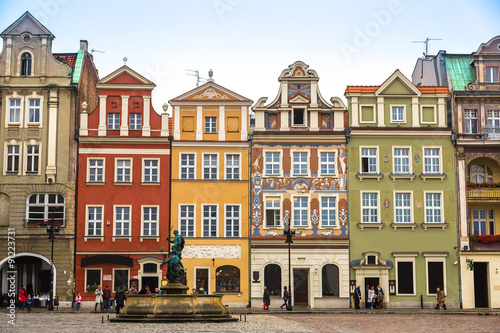 Old market square in Poznan