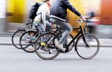 Three men on bikes - 91225542