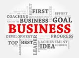 Business words concept, Business concept
