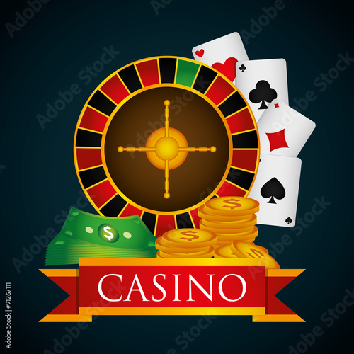 Casino royal games design плакат