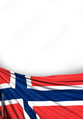 Norway Flag, Norwegian Background Poster