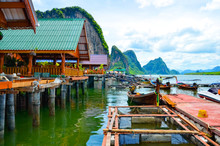 Tsigan Sea Village In The Archipelago Pha Nga