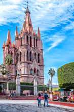 La Parroquia, Pink Church Of S...