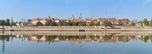 Warszawa, panorama Starego Miasta
