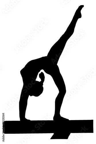 Papiers peints Gymnastique 平均台