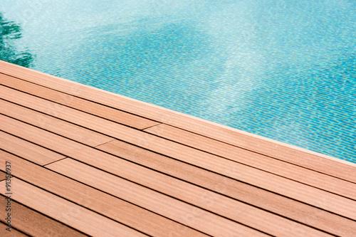 Canvas Print swiming pool