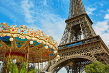 Eiffel Tower And French Merry-...