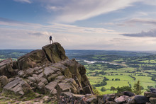 Climbing At The Roaches, Peak ...