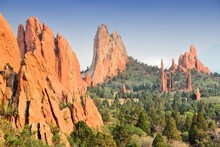 Garden Of The Gods In Colorado...