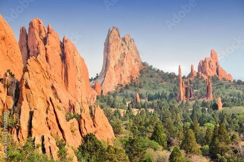Fotografering Garden of the Gods in Colorado Springs