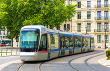 Modern Tram Of Grenoble - Fran...