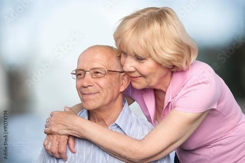 Fototapety, obrazy: Senior Adults.