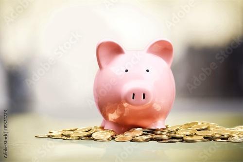 Slika na platnu Piggy Bank.