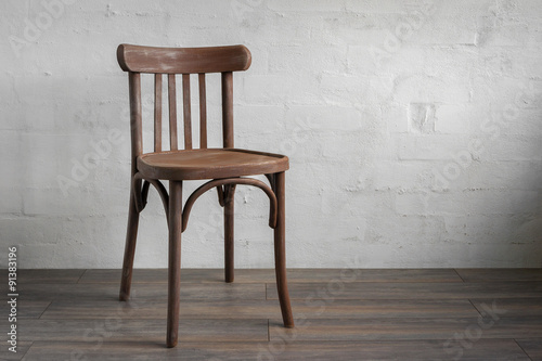 Fotografie, Obraz  Wooden chair