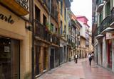 Fototapeta Uliczki - Old narrow street in historic part of Salas