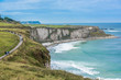 Beautiful coastal landscape in Northern Ireland