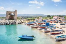 Briatico, A Small Fishing Village In Calabria, Italy
