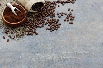Fototapeta do kuchni kawa palona