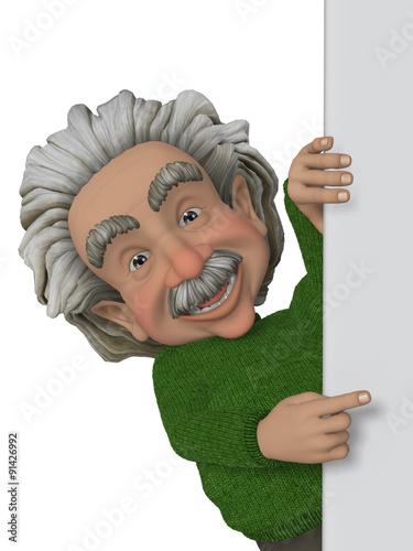 Scientist, professor плакат