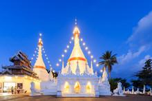 Wat Phra That Doi Kong Mu Temple On A Mountain Top
