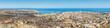 Panoramic view of Praia in Santiago - Capital of Cape Verde Isla