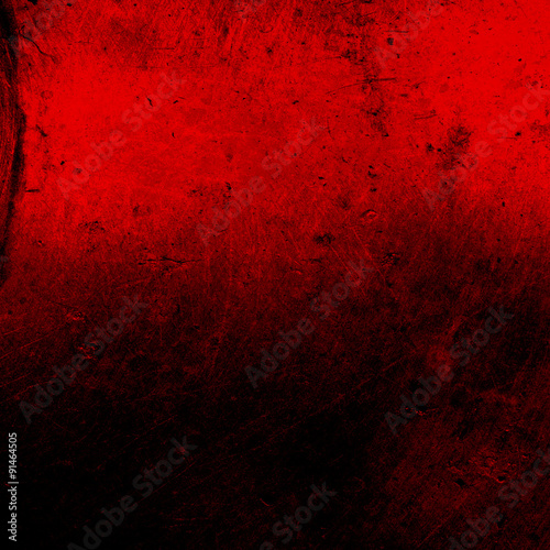 obraz PCV Grunge red background