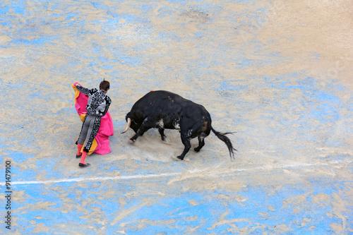 Foto op Canvas Stierenvechten Face à face