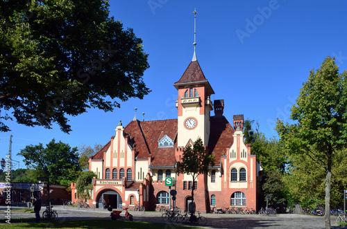 Foto auf AluDibond Bahnhof bahnhof berlin-nikolassee