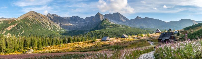 Hala Gasienicowa in Tatra Mountains - panorama