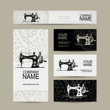 Business Cards Design, Sewing ...