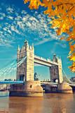 Fototapeta Londyn - Tower bridge in London