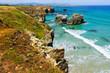 Cantabric coast of Spain