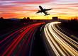 viajar por carretera o en avion