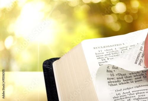 Fotografia  Bible Study.