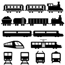 Train And Railway Transportati...