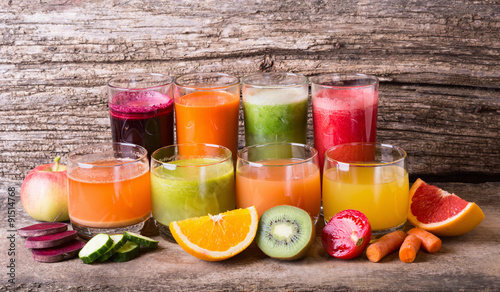 Canvas Prints Juice juice