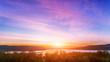 Sunset in Bakota Park