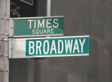 Times Square And Broadway Stre...
