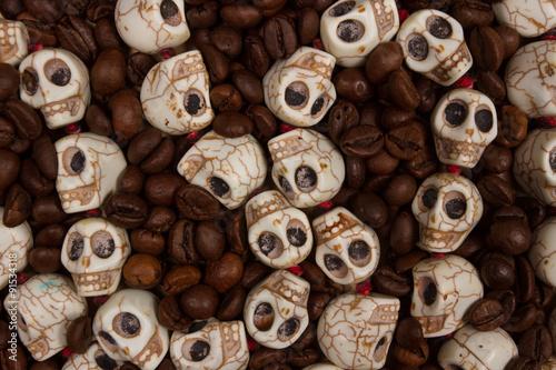 Keuken foto achterwand Koekjes coffee kills