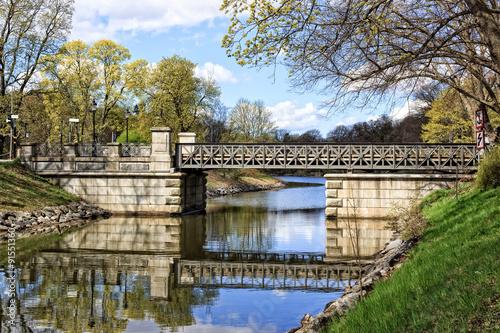 Photo  Djurgården Bridge, Stockholm, Sweden