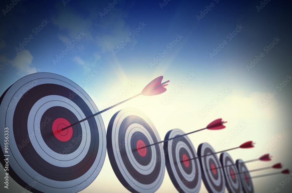 Fototapeta Goals to achieve