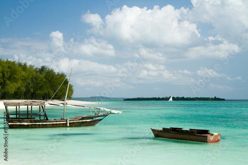 Papiers peints Zanzibar nungwi beach in zanzibar tanzania