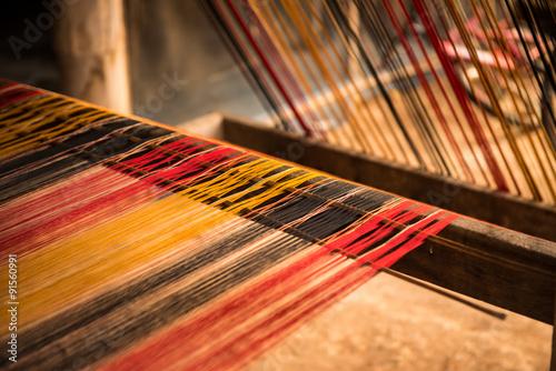Fotografija Silk on the loom
