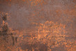 canvas print picture - rusty metal