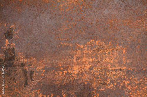 Foto op Canvas Metal rusty metal