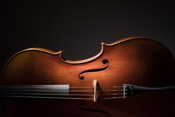 Sylwetka wiolonczeli