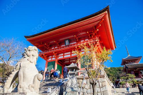 Fotobehang Tokyo Entrance of Kyomizu Temple,Japan.