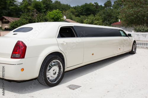 Photographie  Luxury limo limousine day life