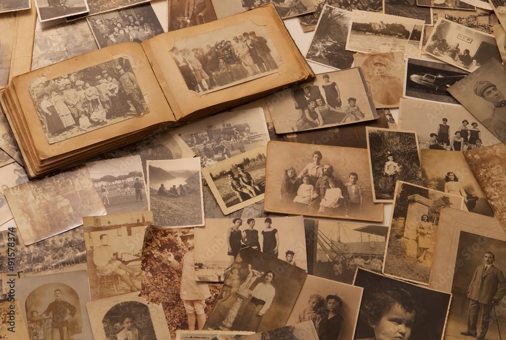Fototapety, obrazy: old Photographs