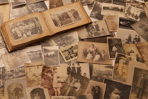Obraz old Photographs - fototapety do salonu